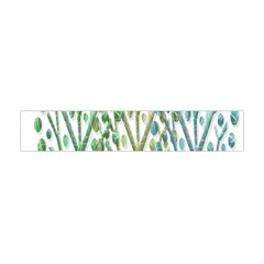 Magical green trees Flano Scarf (Mini)