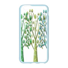 Magical green trees Apple Seamless iPhone 6/6S Case (Color)