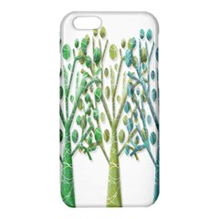 Magical green trees iPhone 6/6S TPU Case
