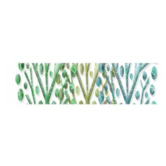 Magical green trees Satin Scarf (Oblong)