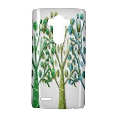Magical green trees LG G4 Hardshell Case