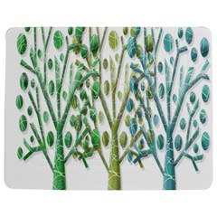 Magical green trees Jigsaw Puzzle Photo Stand (Rectangular)