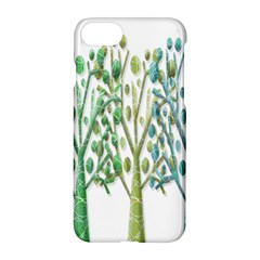Magical green trees Apple iPhone 7 Hardshell Case