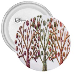Magical autumn trees 3  Buttons