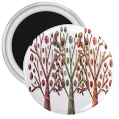 Magical autumn trees 3  Magnets