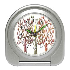 Magical autumn trees Travel Alarm Clocks