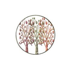 Magical autumn trees Hat Clip Ball Marker (4 pack)