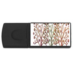 Magical autumn trees USB Flash Drive Rectangular (4 GB)