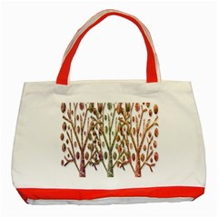 Magical autumn trees Classic Tote Bag (Red)