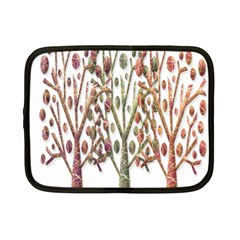 Magical autumn trees Netbook Case (Small)