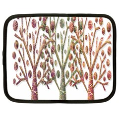 Magical autumn trees Netbook Case (Large)