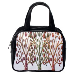 Magical autumn trees Classic Handbags (One Side)