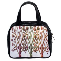 Magical autumn trees Classic Handbags (2 Sides)