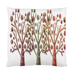 Magical autumn trees Standard Cushion Case (One Side)