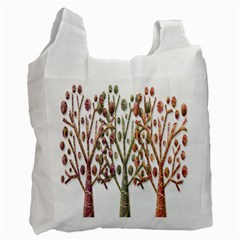 Magical autumn trees Recycle Bag (One Side)