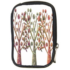 Magical autumn trees Compact Camera Cases