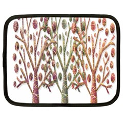 Magical autumn trees Netbook Case (XL)
