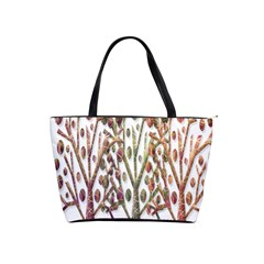 Magical autumn trees Shoulder Handbags