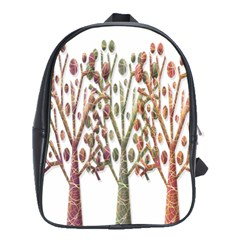 Magical autumn trees School Bags(Large)