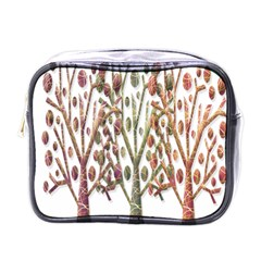 Magical autumn trees Mini Toiletries Bags