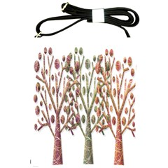 Magical autumn trees Shoulder Sling Bags