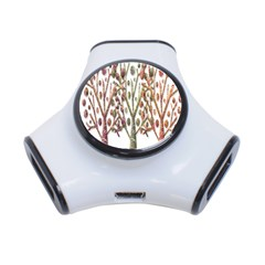 Magical autumn trees 3-Port USB Hub
