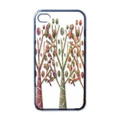 Magical autumn trees Apple iPhone 4 Case (Black)