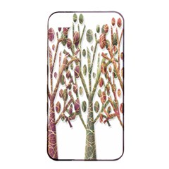 Magical autumn trees Apple iPhone 4/4s Seamless Case (Black)
