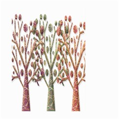 Magical autumn trees Large Garden Flag (Two Sides)
