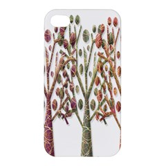 Magical autumn trees Apple iPhone 4/4S Premium Hardshell Case