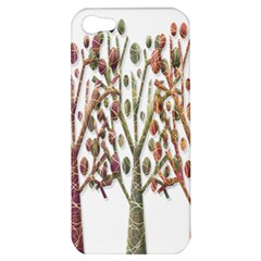 Magical autumn trees Apple iPhone 5 Hardshell Case