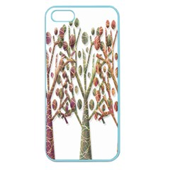 Magical autumn trees Apple Seamless iPhone 5 Case (Color)