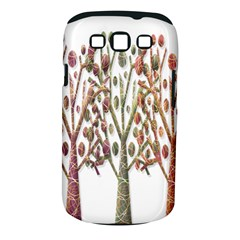 Magical autumn trees Samsung Galaxy S III Classic Hardshell Case (PC+Silicone)