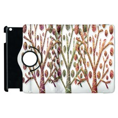 Magical autumn trees Apple iPad 2 Flip 360 Case