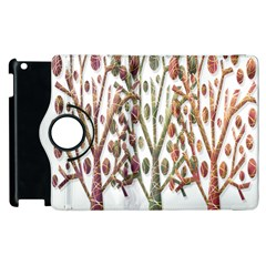 Magical autumn trees Apple iPad 3/4 Flip 360 Case
