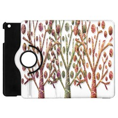 Magical autumn trees Apple iPad Mini Flip 360 Case