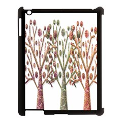 Magical autumn trees Apple iPad 3/4 Case (Black)