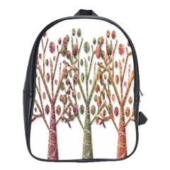 Magical autumn trees School Bags (XL)