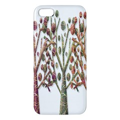Magical autumn trees Apple iPhone 5 Premium Hardshell Case
