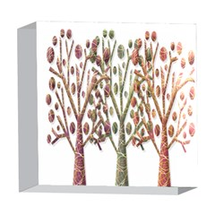 Magical autumn trees 5  x 5  Acrylic Photo Blocks