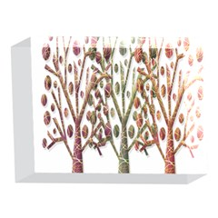 Magical autumn trees 5 x 7  Acrylic Photo Blocks