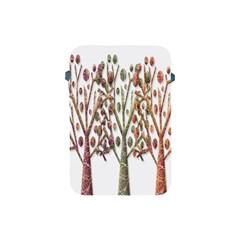 Magical autumn trees Apple iPad Mini Protective Soft Cases