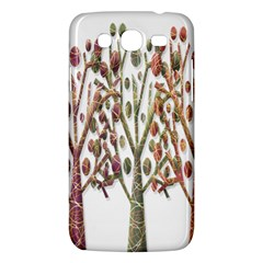 Magical autumn trees Samsung Galaxy Mega 5.8 I9152 Hardshell Case