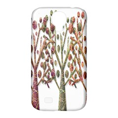 Magical autumn trees Samsung Galaxy S4 Classic Hardshell Case (PC+Silicone)