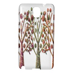 Magical autumn trees Samsung Galaxy Note 3 N9005 Hardshell Case