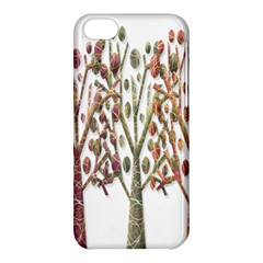 Magical autumn trees Apple iPhone 5C Hardshell Case