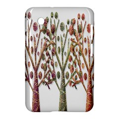 Magical autumn trees Samsung Galaxy Tab 2 (7 ) P3100 Hardshell Case