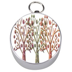 Magical autumn trees Silver Compasses