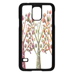 Magical autumn trees Samsung Galaxy S5 Case (Black)