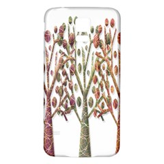 Magical autumn trees Samsung Galaxy S5 Back Case (White)